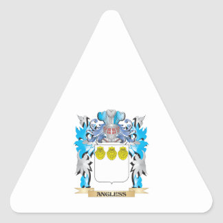 Angless Coat Of Arms Sticker