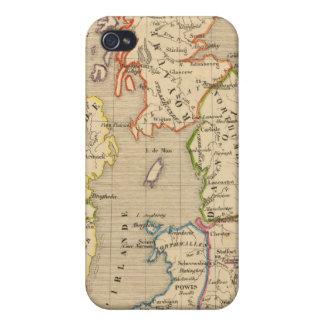 Angleterre, Ecosse & Irlande en 900 iPhone 4/4S Cover