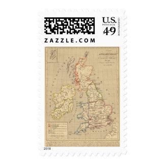Angleterre, Ecosse & Irlande en 900 Stamp