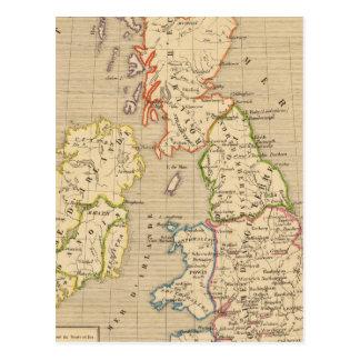 Angleterre, Ecosse & Irlande en 900 Post Card