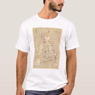 Angleterre, Ecosse & Irlande en 900 T-Shirt