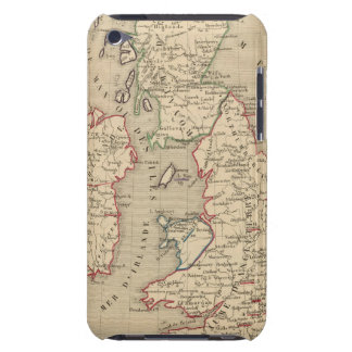 Angleterre, Ecosse, Irlande et Man 1100 a 1280 Barely There iPod Case