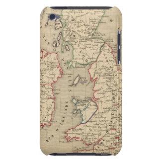Angleterre, Ecosse, Irlande et Man 1100 a 1280 iPod Case-Mate Cases
