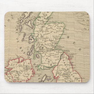 Angleterre, Ecosse, Irlande et Man 1100 a 1280 Mouse Pad