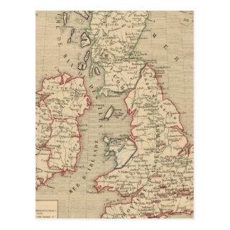 Angleterre, Ecosse, Irlande et Man 1100 a 1280 Postcards