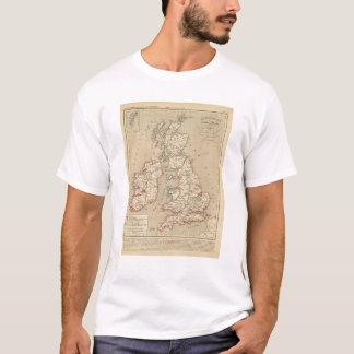 Angleterre, Ecosse, Irlande et Man 1100 a 1280 T-Shirt