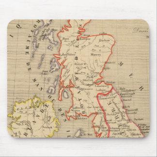 Angleterre, Ecosse, Irlande et Man en 1100 Mouse Pad