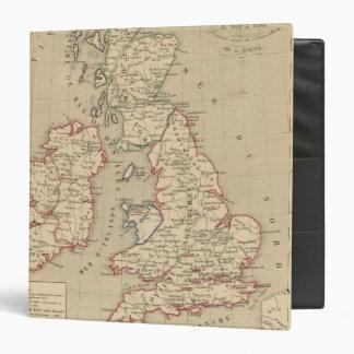 """Angleterre, Ecosse, Irlande y sirve 1100 un 1280 Carpeta 1 1/2"""""""