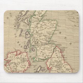 Angleterre, Ecosse, Irlande y sirve 1100 un 1280 Mouse Pad