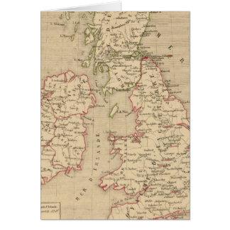 Angleterre, Irelande & Ecosse 1281 a 1400 Card