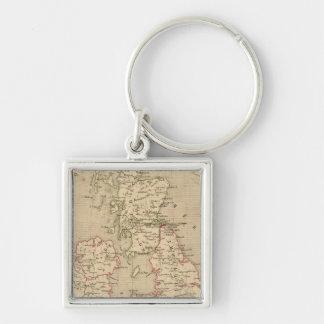 Angleterre, Irelande & Ecosse 1281 a 1400 Keychain