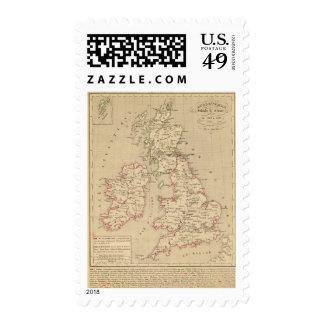 Angleterre, Irelande & Ecosse 1281 a 1400 Postage Stamp