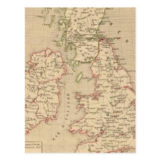 Angleterre, Irelande & Ecosse 1281 a 1400 Post Card