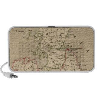 Angleterre, Irelande & Ecosse 1281 a 1400 Travelling Speaker