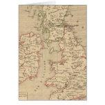 Angleterre, Irelande y Ecosse 1281 un 1400 Tarjeta De Felicitación