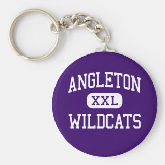 Angleton - Wildcats - High School - Angleton Texas Keychain