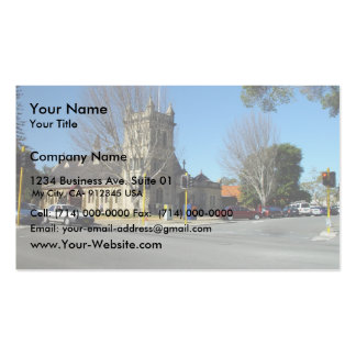 Anglican Christ Church At Claremont In Western Aus Business Card Template