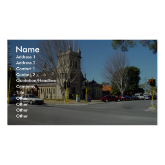 Anglican Christ Church At Claremont In Western Aus Business Card Templates