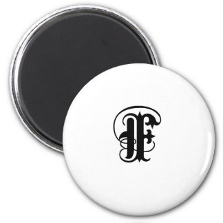 Anglican F solid 2 Inch Round Magnet