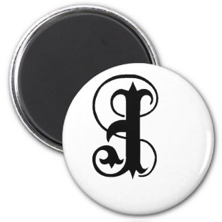 Anglican J solid 2 Inch Round Magnet