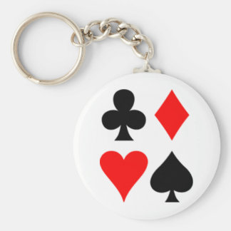 Anglo-American_card_suits Keychain