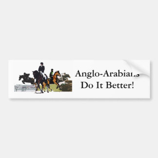 Anglo-Arabians Bumper Sticker
