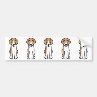 Anglo-Français de Petite Vénerie Dog Cartoon Bumper Sticker