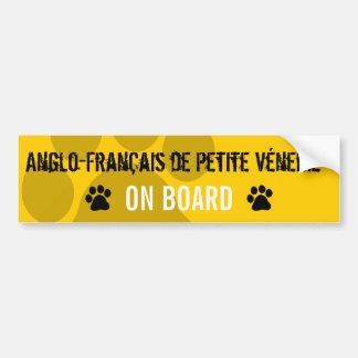 Anglo-Francais de Petite Venerie on Board Bumper Sticker