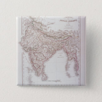 Anglo-Indian Empire Pinback Button