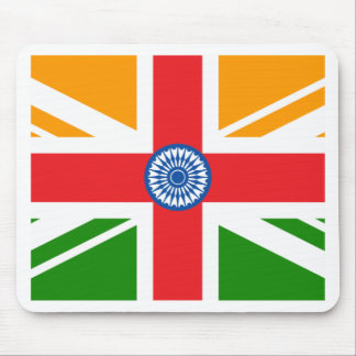 Anglo Indian Flag Mouse Pad