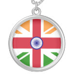 Anglo Indian Indentity, Hungary Round Pendant Necklace