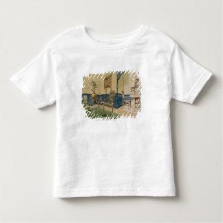 Anglo-Japanese Designs, c.1860 (pen & black ink & Toddler T-shirt