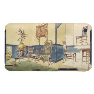 Anglo Japanese style furniture designs by Edward W Barely There iPod Cover