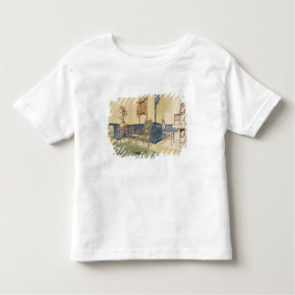 Anglo Japanese style furniture designs by Edward W Toddler T-shirt
