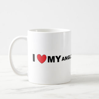 anglo russian hound love coffee mug