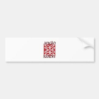 Anglo Saxon Bumper Sticker