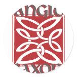 Anglo Saxon Classic Round Sticker