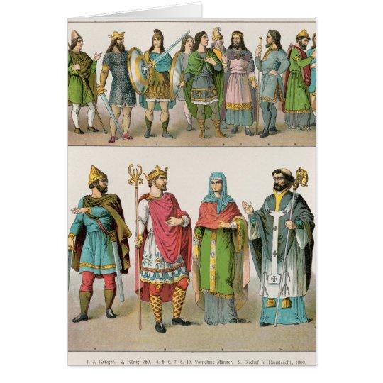 Anglo-Saxon Dress Card