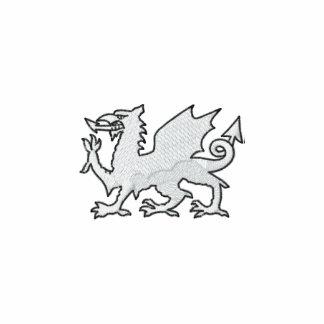 Anglo Saxon Embroidered Fleece Hoodie