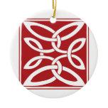Anglo-Saxon Knot Ceramic Ornament