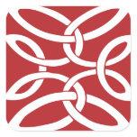 Anglo-Saxon Knot Square Sticker