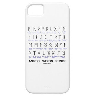 Anglo-Saxon Runes (Linguistics Cryptography) iPhone 5 Cover