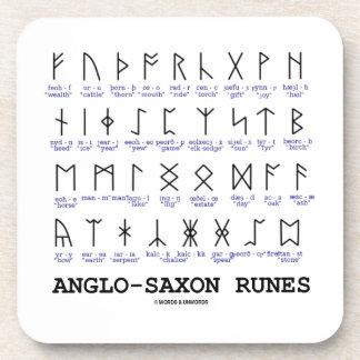 Anglo-Saxon Runes (Linguistics Cryptography) Coasters