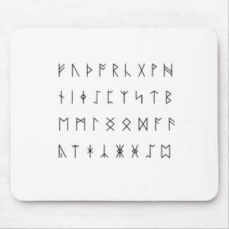 Anglo-Saxon Runes Mouse Pad