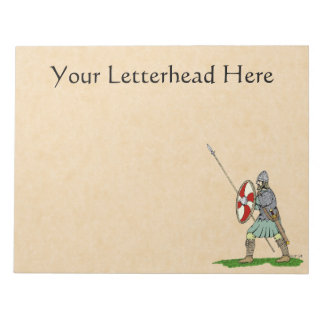 Anglo-Saxon Warrior Notepad