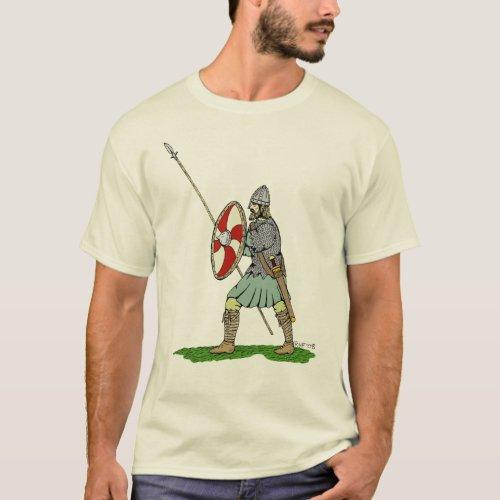 Anglo_Saxon Warrior T_Shirt