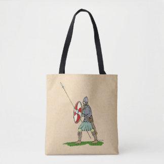 Anglo-Saxon Warrior Tote Bag