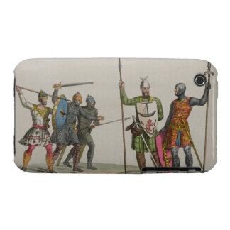Anglo-Saxon Warriors, plate 14 from 'The History o iPhone 3 Case