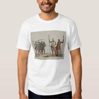 Anglo-Saxon Warriors, plate 14 from 'The History o T Shirt