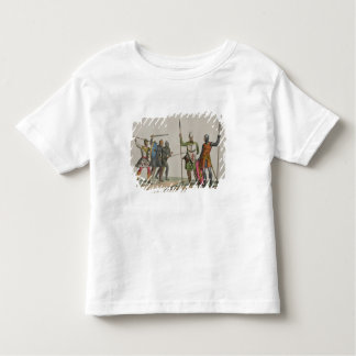 Anglo-Saxon Warriors, plate 14 from 'The History o Toddler T-shirt
